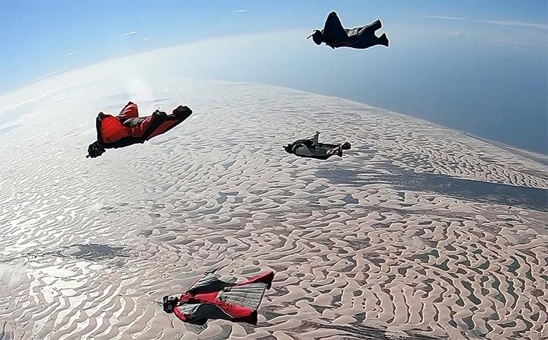 Salto Wingsuit Lençóis Maranhão 2018 Flybrothers